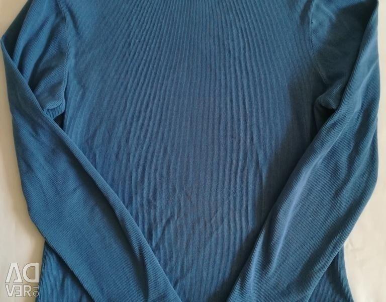 Πουλόβερ μπλε-μπλε, r-46