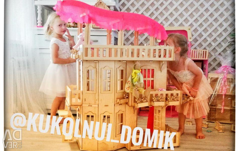 Mansion for dolls