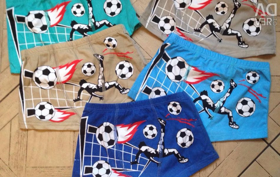 New boxer shorts for 4-5 years