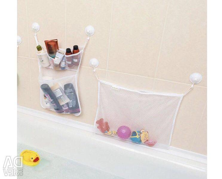 Banyo mükemmel durumda Organizatör 2 adet