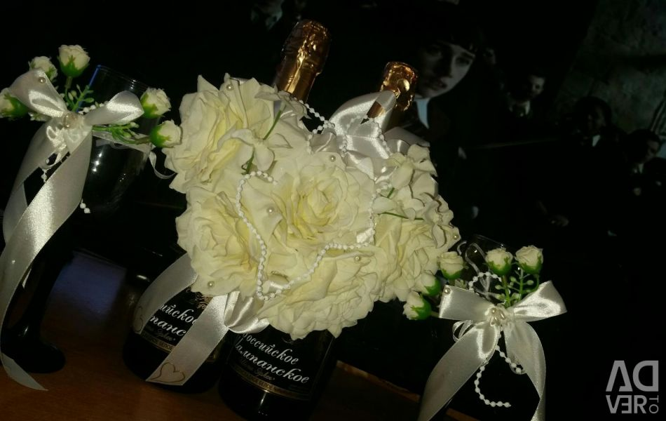 Champagne decoration