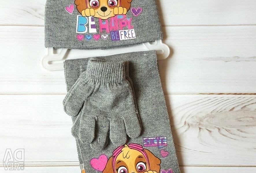 Nickelodeon. Volume 52. Hat new children's scarf