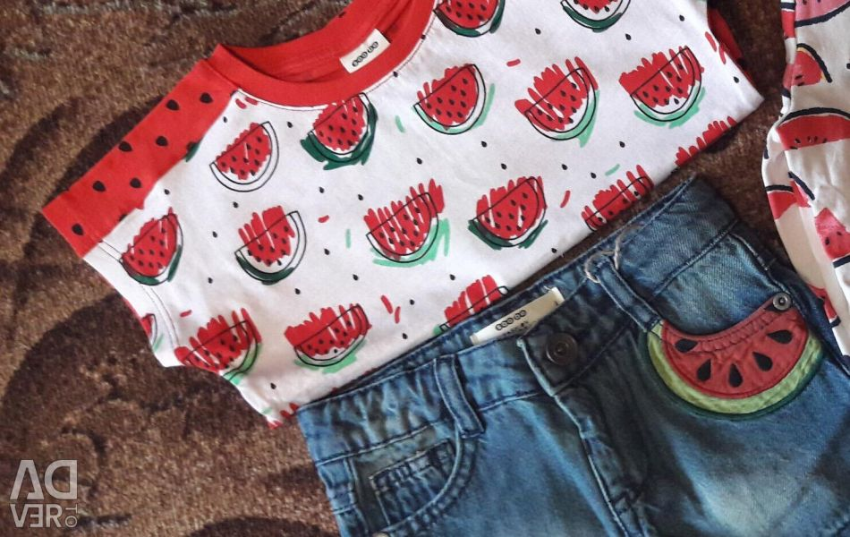Set for the girl watermelon