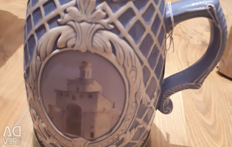 214302 Beer mug collection Vladimir 19 cm.
