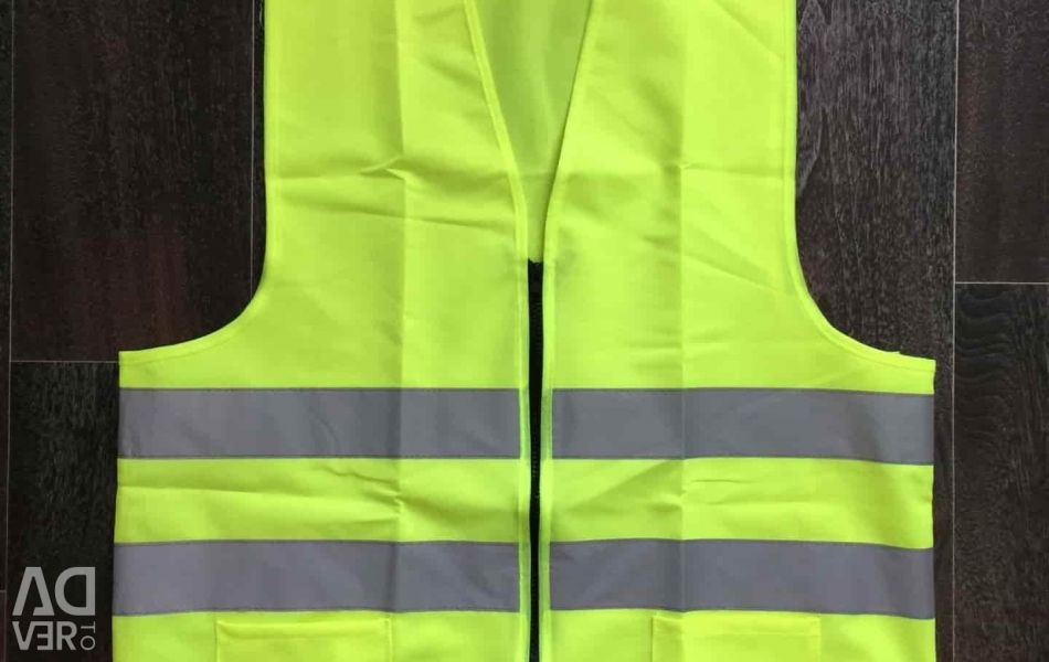 Vest for drivers for safety according to GOST