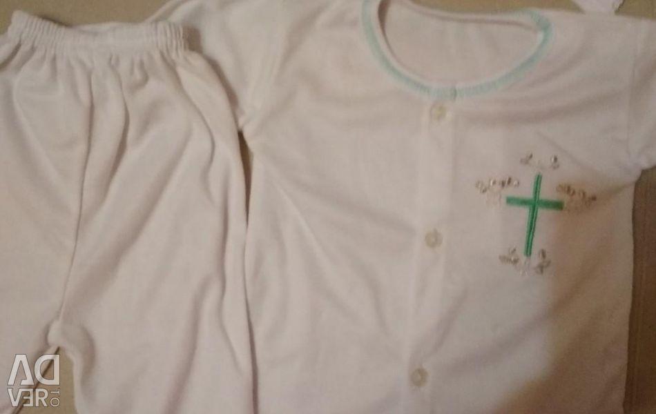Set for baptism
