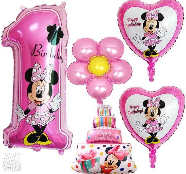 Anniversary balloons set