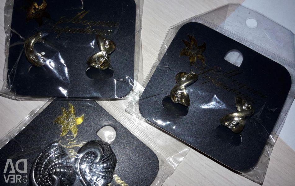 Earrings. Bijouterie