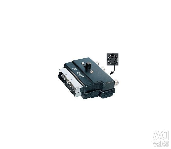 DigitMX DMX-SCRCA Scart-3RCA/Svideo Adaptor