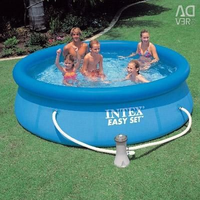 Pool 305x76 cm inflatable + filter pump