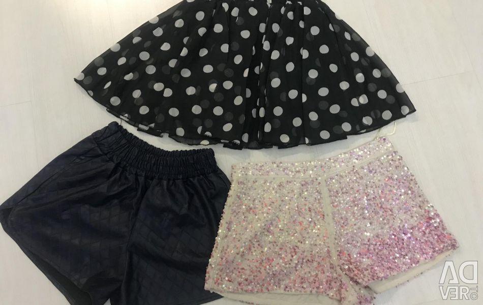 Shorts 3 pcs