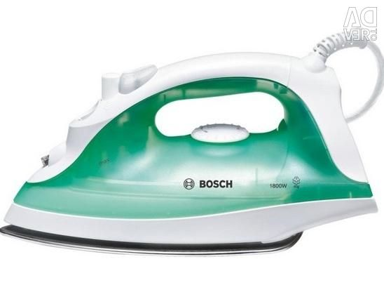 New, warranty Bosch TDA2315 iron green