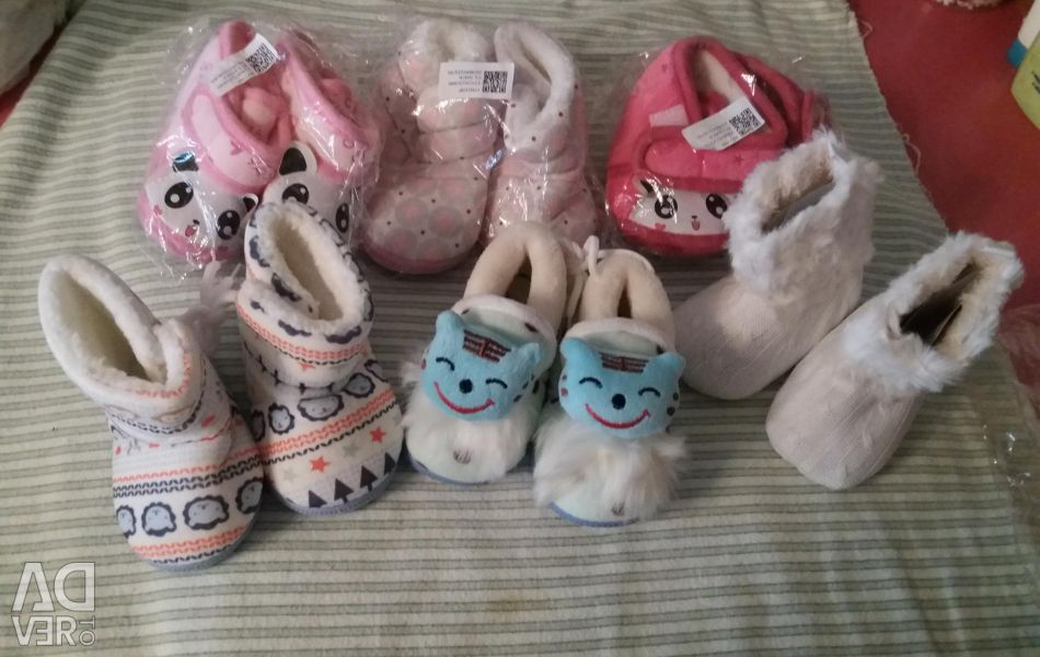 Brand new shoes for little ones.