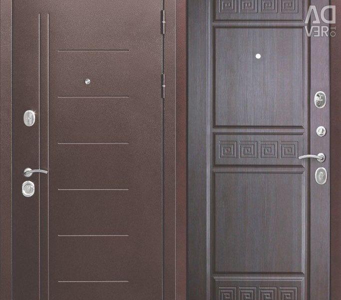 Entrance door 10 cm Troy Antique Wenge
