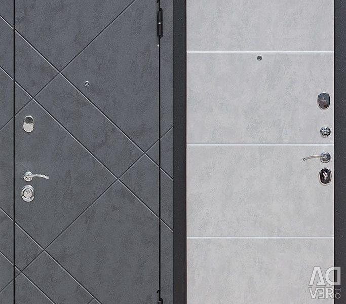 Giriş kapısı 9 cm BRUKLIN Beton grafit / Beton ne