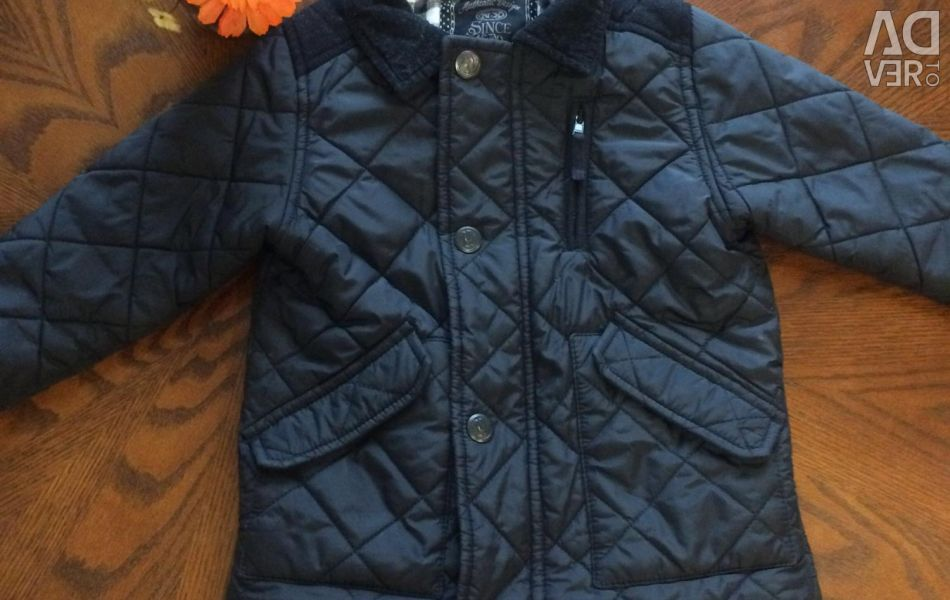 Quilted jacket for 2-3 years