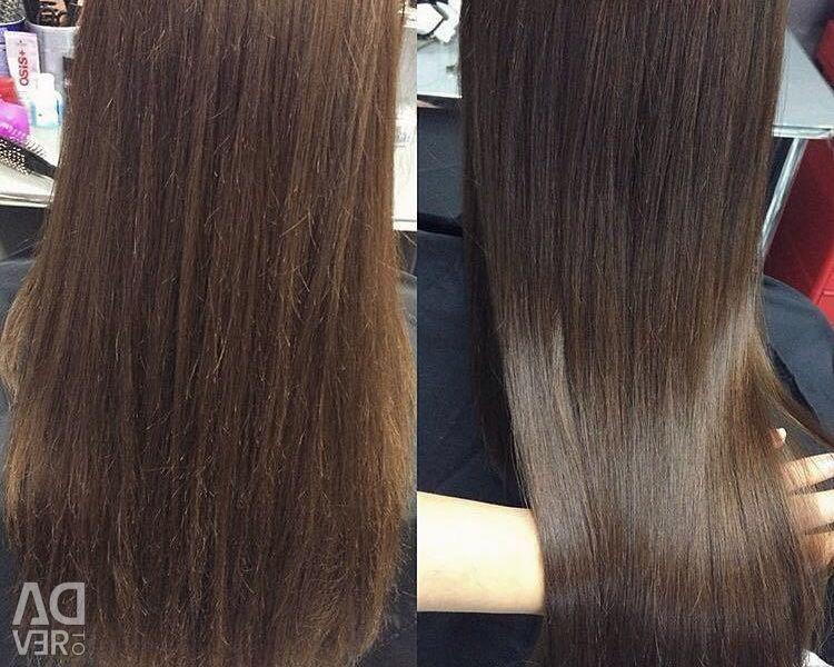 Hair polishing?