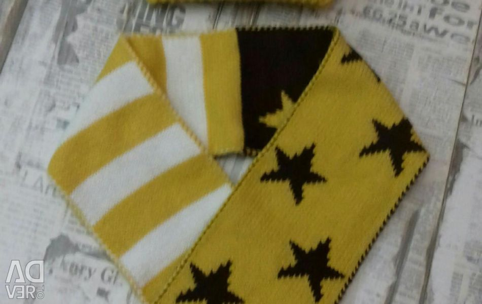 Hat, scarf set