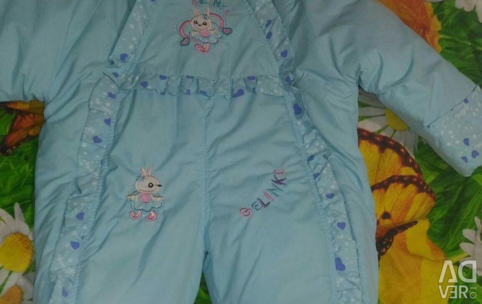 New spring-autumn jumpsuit