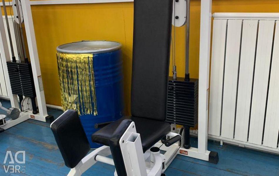 Μηχανή άσκησης απαγωγής ισχίου
