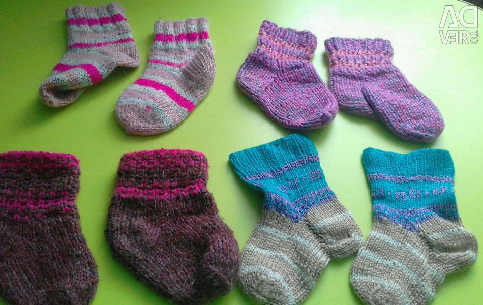 Κάλτσες πλεκτά 4 ζεύγη