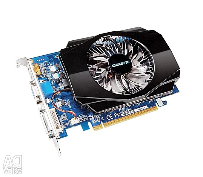 GT 730 GIGABYTE NVIDIA 2 Гб GF GRAPHIC CARD
