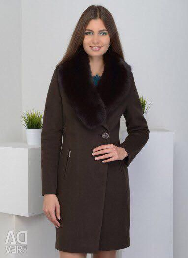 Coat, new wool 100%.