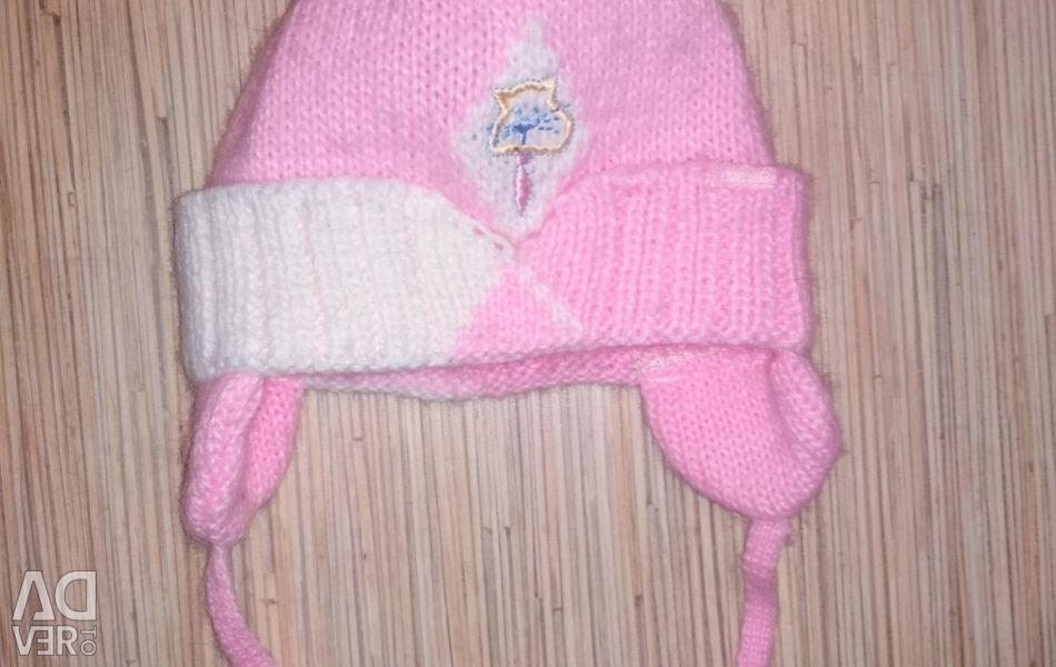 Children's hat for 1 year