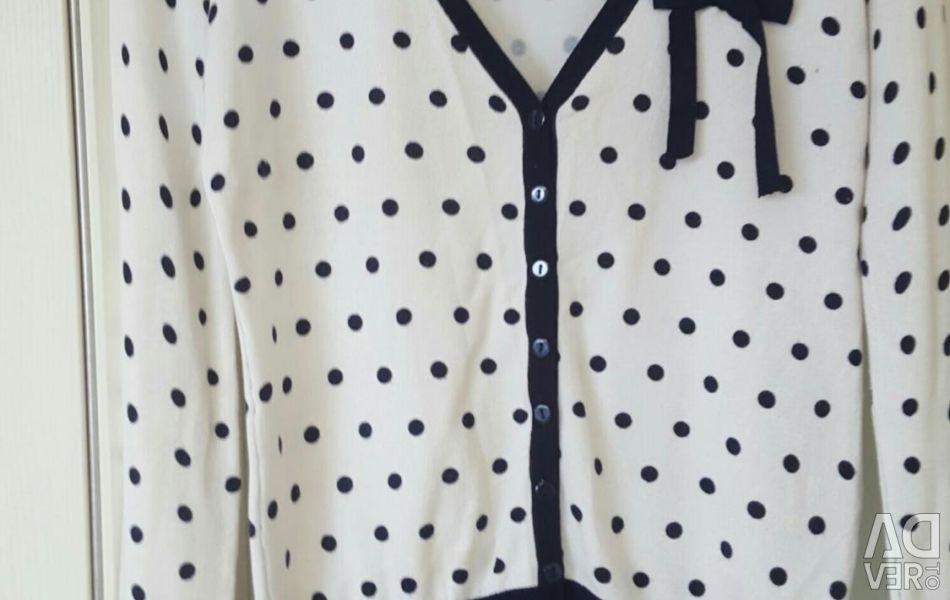 Милый кардиган кофта накидка блуза пиджак
