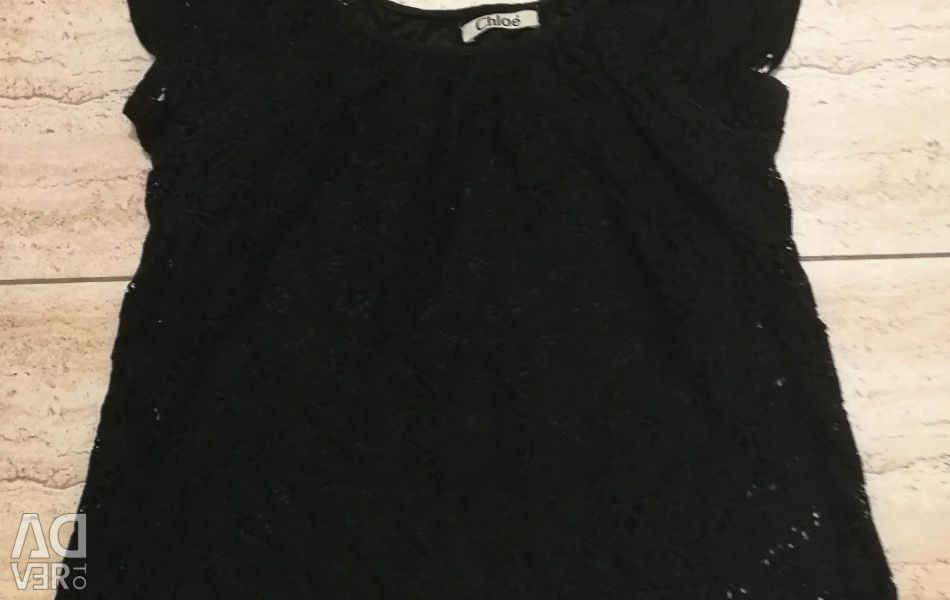Мереживна футболка Chloe 50-52 розмір 🎬