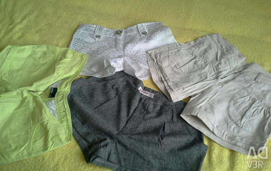 Shorts for a girl.