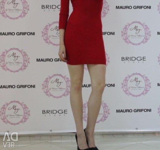 Mini dress, Bershka, red