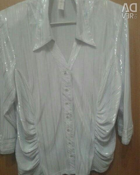 Κομψή μπλούζα 56 μέγεθος