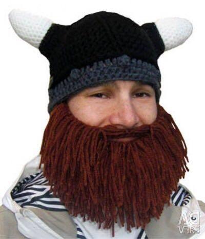 Viking Cap with Beard