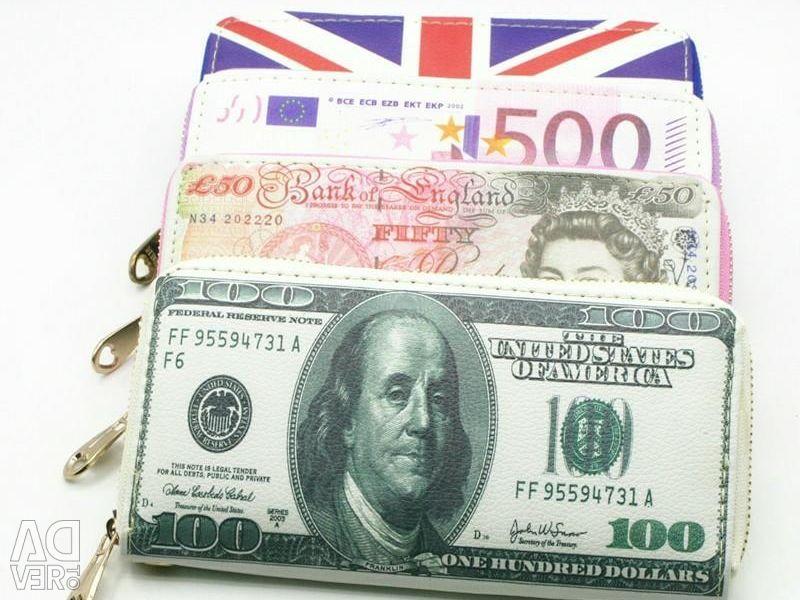 Purses Dollar and Euro