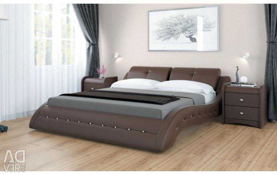 Κρεβάτι με απαλό κεφαλάρι