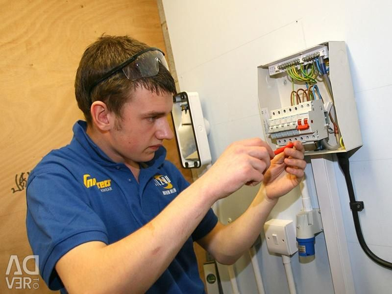 Wiring electrician
