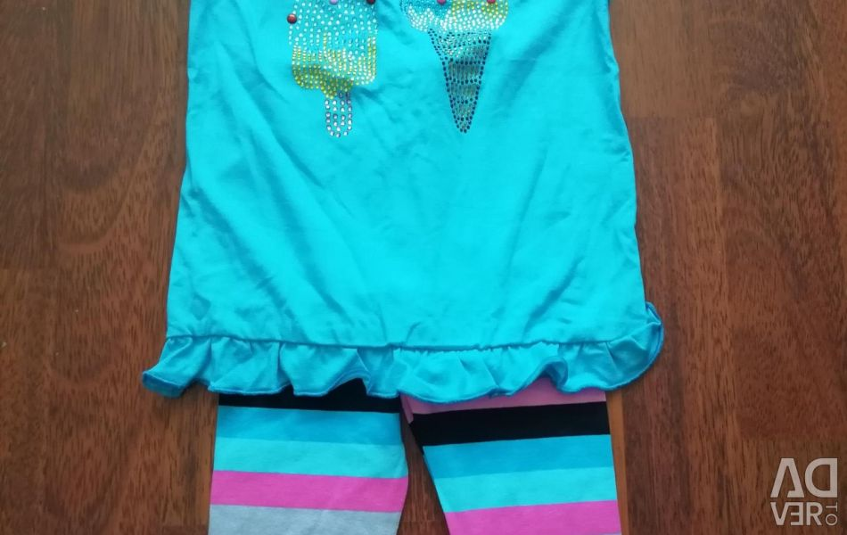 I sell a new set of t-shirt and leggings