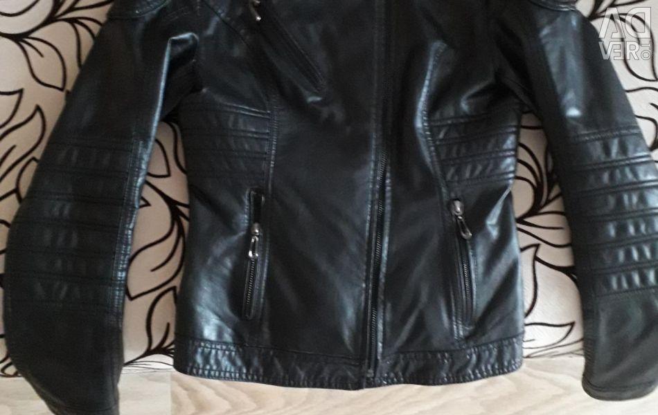 Leather jacket, see profile
