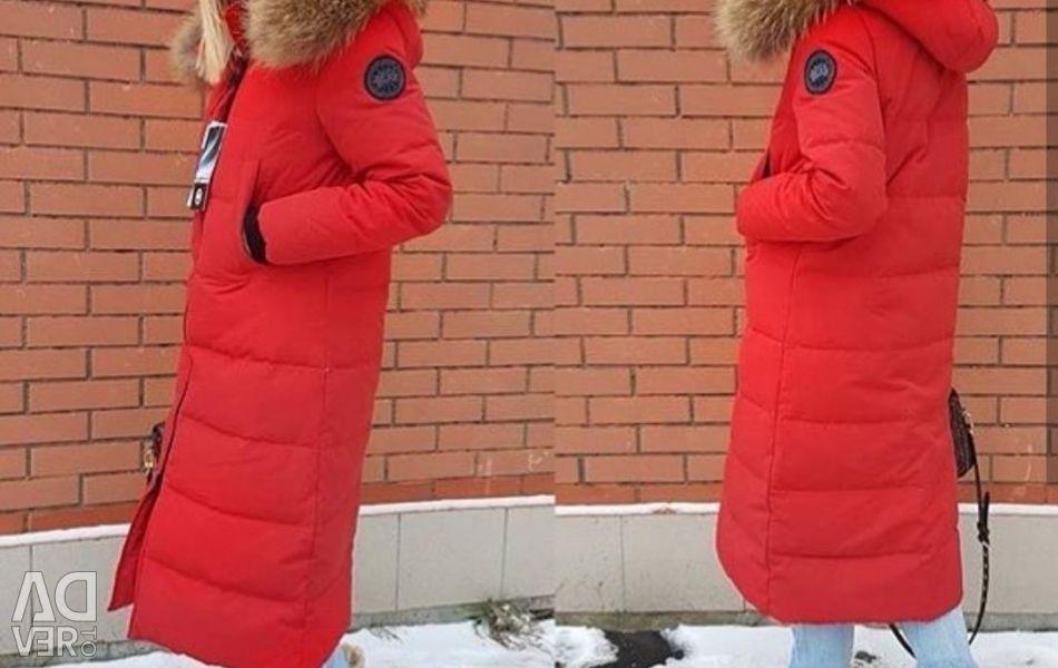 Long down jacket (S, M, L, XL)