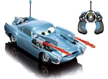DICKIE Finn McMissle Cars 29cm with rockets