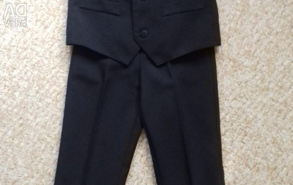 Κοστούμι για ένα αγόρι rr: 110-116