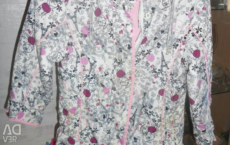 Jacket autumn - spring for 122-130