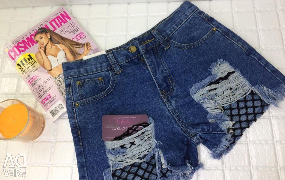 Шорти джинсові, 40 Розмір