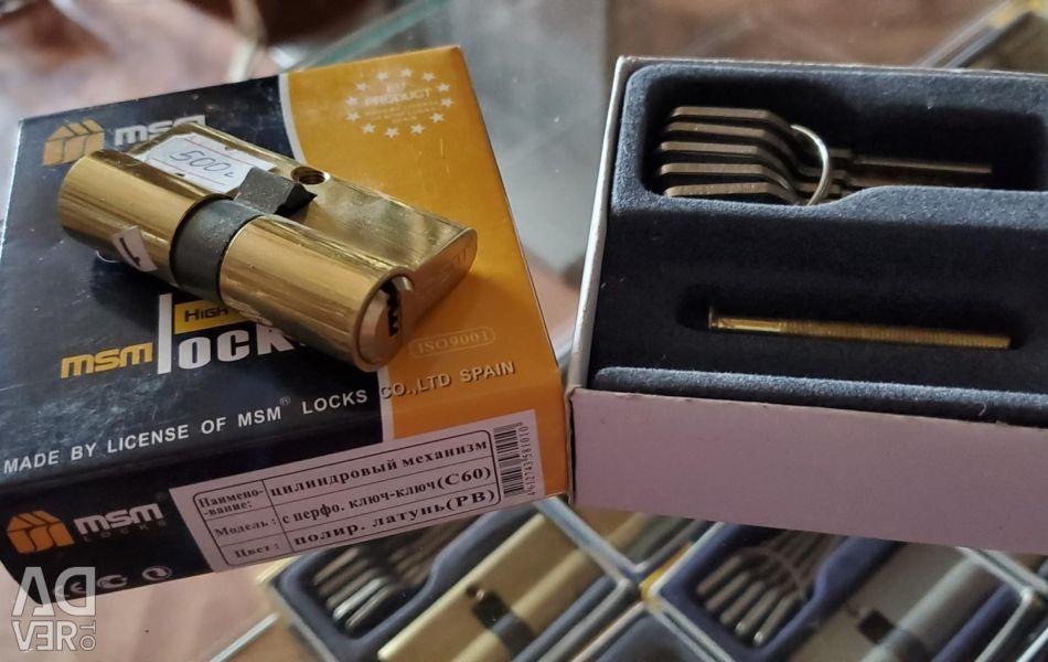 New Cylinder mechanisms MSM LOCK