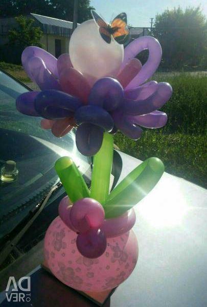 Flower of balls