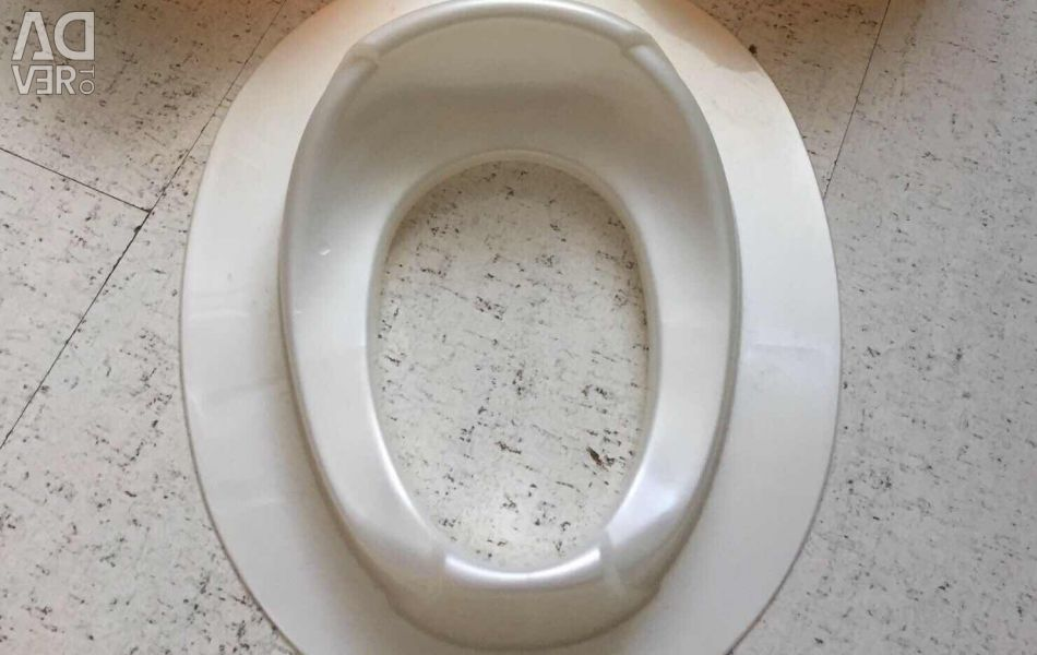 Pad on the toilet