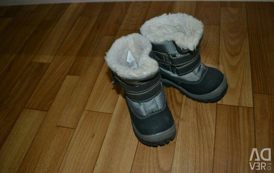 Χειμωνιάτικες μπότες της εταιρίας skorohod