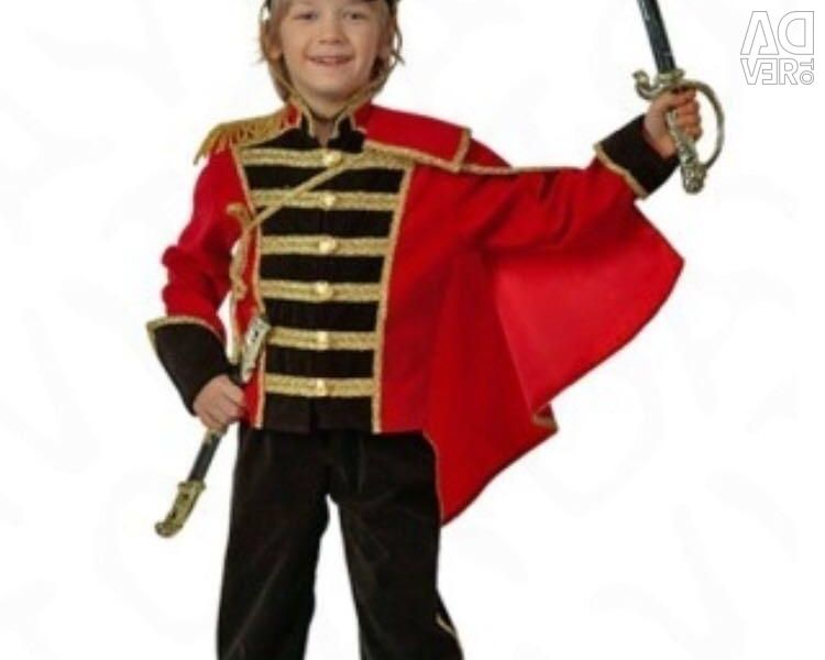 Hussar costume, for hire