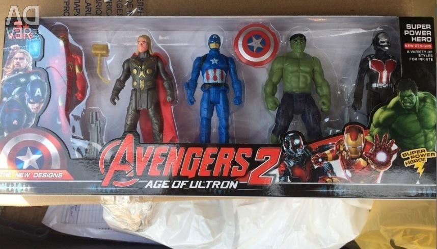 Avengers 5in1 - 15cm